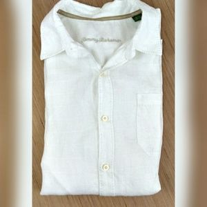 Tommy Bahama White Button Up